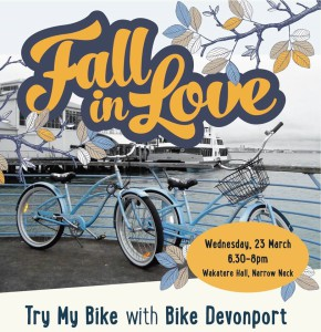 Fall in Love with a Bike @ Wakatere Hall, Narrow Neck | New Zealand