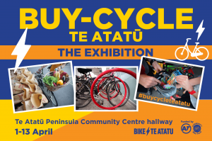 Buy-Cycle Te Atatū: The Exhibition @ Te Atatū Peninsula Community Centre | Auckland | Auckland | New Zealand